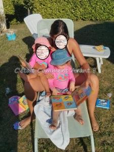 La femme de parrain avec melle Pikotine et sa fille