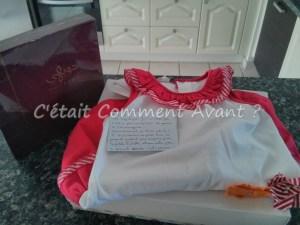 Des cadeaux qui arrivent pour Melle Pikotine et sa maman from Liban ! Je vais me régaler avec les gateaux!