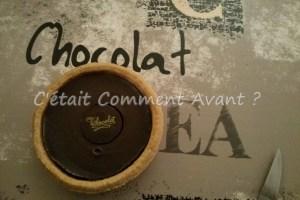 manger une tartelette en chocolat !