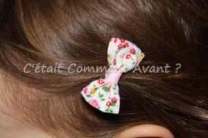 Avoir un joli noeud dans les cheveux