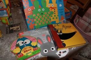 Les livres et activités des oncles et tantes