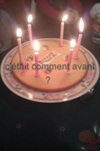 Fêter l'anniversaire de ma nièce, née le 25 decembre