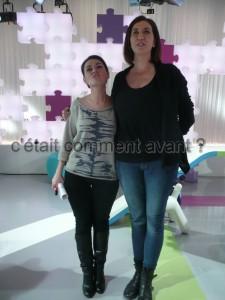Et celle là, avec Elsa, c'était pour faire comme miss France quelques jours avant (et quelques kilos en plus :-) )